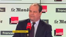 "Jean-Christophe Cambadélis : ""Je ne voyais pas Emmanuel Macron loyal avec François Hollande"""
