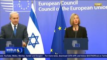 Israeli PM meets EU foreign ministers on Jerusalem controversy