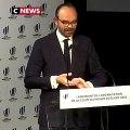 Le très gros lapsus d'Edouard Philippe hier suivi d'un fou-rire que le Premier Ministre a eu beaucoup de mal à contenir