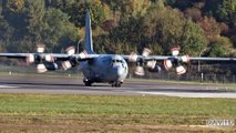 Turkish Air Force - Lockheed C-130E Hercules [70-01610] Taking off from Luxembourg Airport