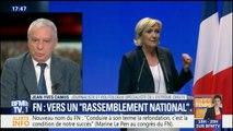 """""""Changer de nom ne suffira pas à résoudre l'équation électorale du FN"""", selon Jean-Yves Camus"""