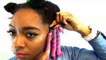 Curlformers on Natural Hair   Natural Hairstyles for Black Women