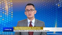 Chinese President Xi Jinping congratulates Rouhani on re-election as Iranian president