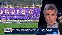 La Fiorentina pleure son capitaine Davide Astori