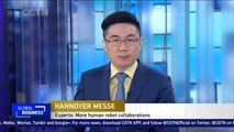 Human-robot collaborations highlighted at Germany's Hannover Messe trade fair