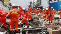 At least three killed after building collapse in NW China
