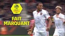 Étincelant face à Guingamp, Pléa signe le premier quadruplé de sa carrière / 2017-18