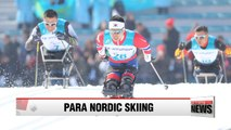 2018 Paralympics: Sin Eui-hyun wins Korea's first medal in sitting cross-country