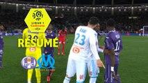 Toulouse FC - Olympique de Marseille (1-2)  - Résumé - (TFC-OM) / 2017-18