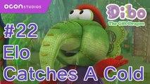 [Dibo the gift dragon] #22 Elo Catches A Cold(ENG DUB)ㅣOCON