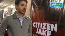 Atom Araullo talks about his first film, Citizen Jake