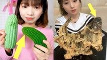 EATING SHOW COMPILATION-CHINESE FOOD-MUGBANG-Greasy Chinese Food-Beauty eat strange food-NO.60