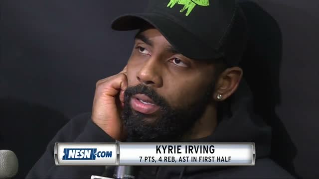 Kyrie Irving Leaves Celtics Game vs. Pacers