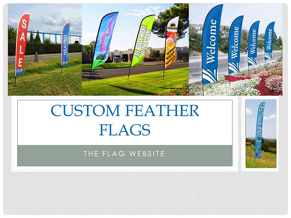 Custom Feather Flags | Bow Flags – The Flag Website