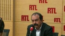"""Front national : """"Changer la vitrine ne change pas le fonds de commerce"""", tacle Philippe Martinez"""