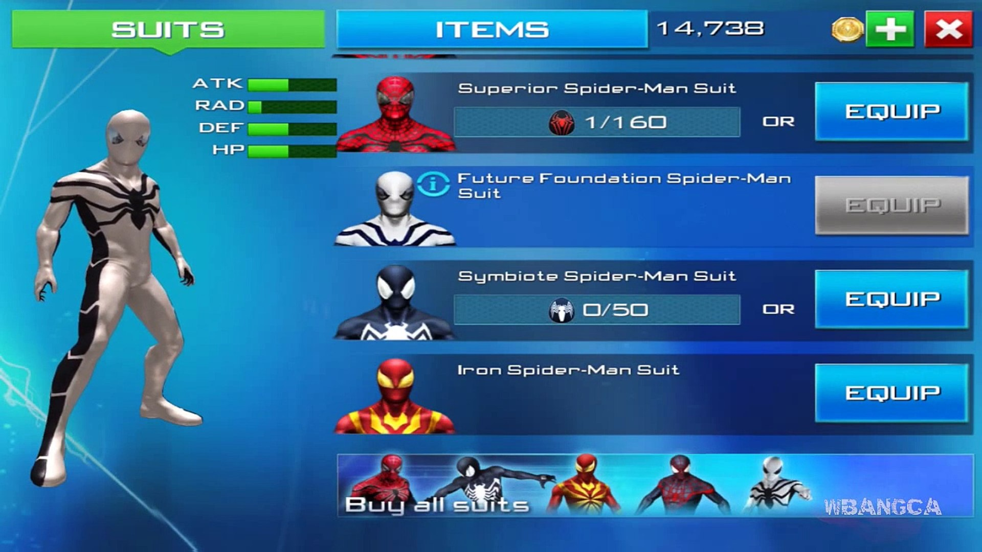 The Amazing Spider Man 2 Future Foundation Suit Ipad Iphone
