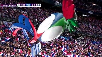 Highlights ufficiali della partita – ampia sintesi  Francia - Inghilterra  NatWest 6 Nations