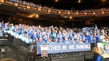 Basket - les supporters de Mons-Hainaut mettent l'ambiance lors de la finale 2