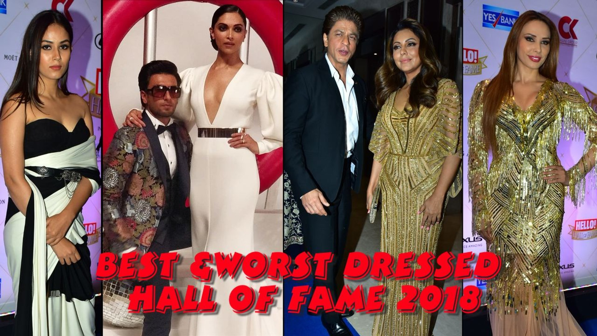 Best & Worst dressed at Hello! Hall of Fame Awards 2018