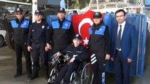 Engelli Genç En Büyük Hayaline Kavuştu