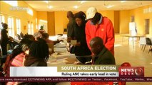South Africa election: Ruling ANC takes early lead in vote