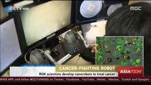 South Korean scientists develop nano-robots to treat cancer