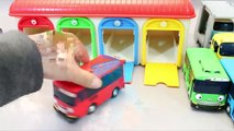 Toy Velcro Cutting Fruits Tayo The Little Bus English Learn Numbers Colors Toy Surprise