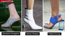صيحات الأحذية الأكثر رواجاً في موسم ربيع 2018