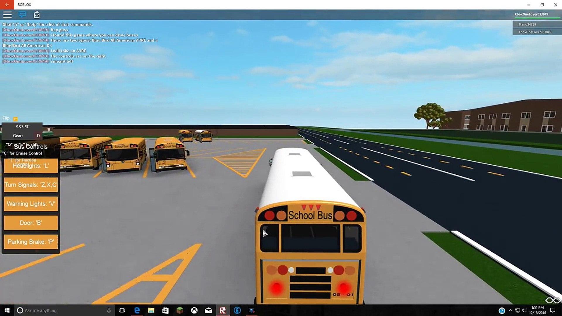 Roblox Bus Games Roblox 1 Charlotte Public Schools Driving A Bus Video Dailymotion