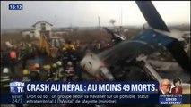Au moins 49 morts après le crash d'un avion au Népal
