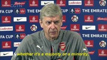 Arsene Wenger says fan protests will play a part in decision to stay or leave Arsenal