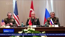 US, Russia and Turkey discuss Iraq and Syria conflicts in Antalya