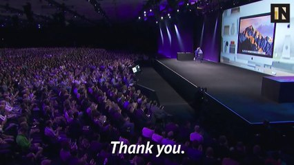 10 Years of White Men Thanking Other White Men at WWDC
