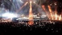 Muse - Interlude + Hysteria, Bercy Arena, Paris, France  3/3/2016