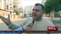 Civilians still trapped in Aleppo as government forces advance