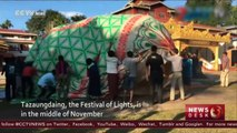 Myanmar celebrates yearly balloon carnival