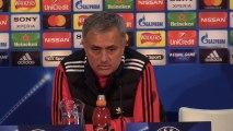 Rueda de prensa de José Mourinho previa al Manchester United - Sevilla