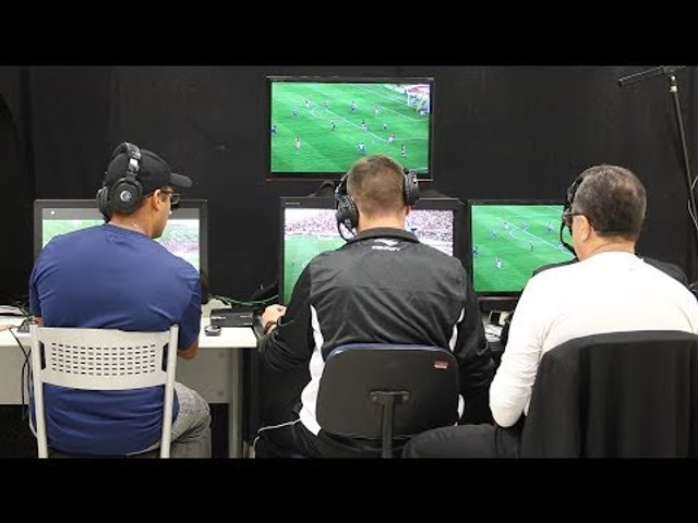 Árbitros de Vídeo classificam experiência no Gre-Nal 413 como positiva