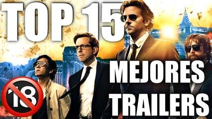 TOP 15 MEJORES TRAILERS DE CINE (+18)