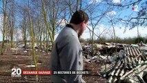 Yvelines : une ville impuissante face à une décharge sauvage étendue sur 25 hectares