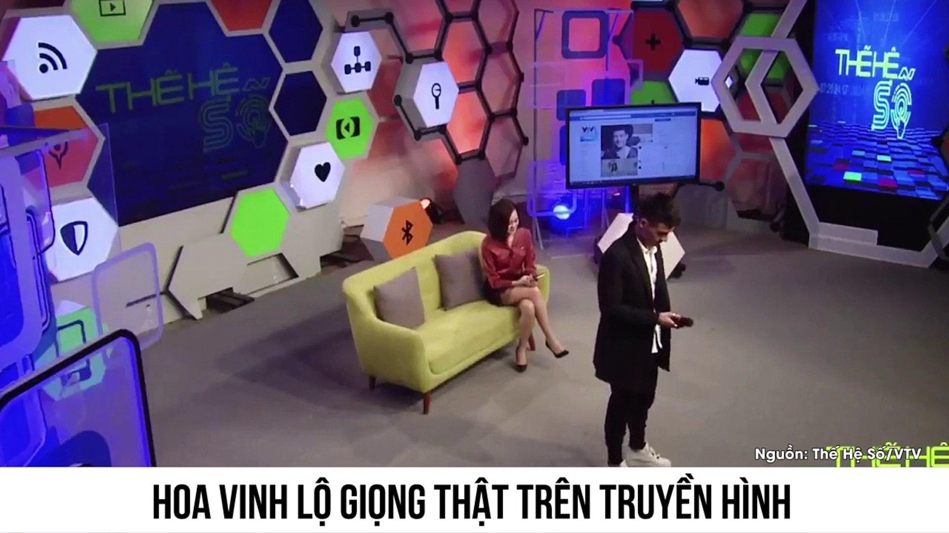 Chàng trai hot nhất facebook Hoa Vinh lộ diện giọng hát thật trên sóng truyền hình