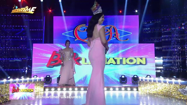 It's Showtime Miss Q & A: Markie Sagum wins her fifth crown