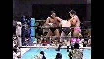 Keiji Muto/Kengo Kimura vs Riki Choshu/Takayuki Iizuka (New Japan June 20th, 1992)