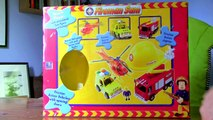 Fireman Sam Rescue Play Set - Fire Engine, Helicopter, Rescue Truck