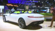 ASton Martin DB11 Volante en direct du salon de Genève