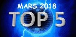 TOP 5 DES JEUX DE MARS 2018 - Quels jeux acheter en Mars ?