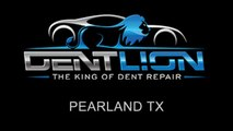 PDR   Paintless Dent Repair   Pearland TX   Dent Lion