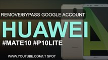 BYPASS GOOGLE Account on HUAWEI Phones | New Method 2018