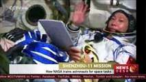 How NASA trains astronauts for work in space