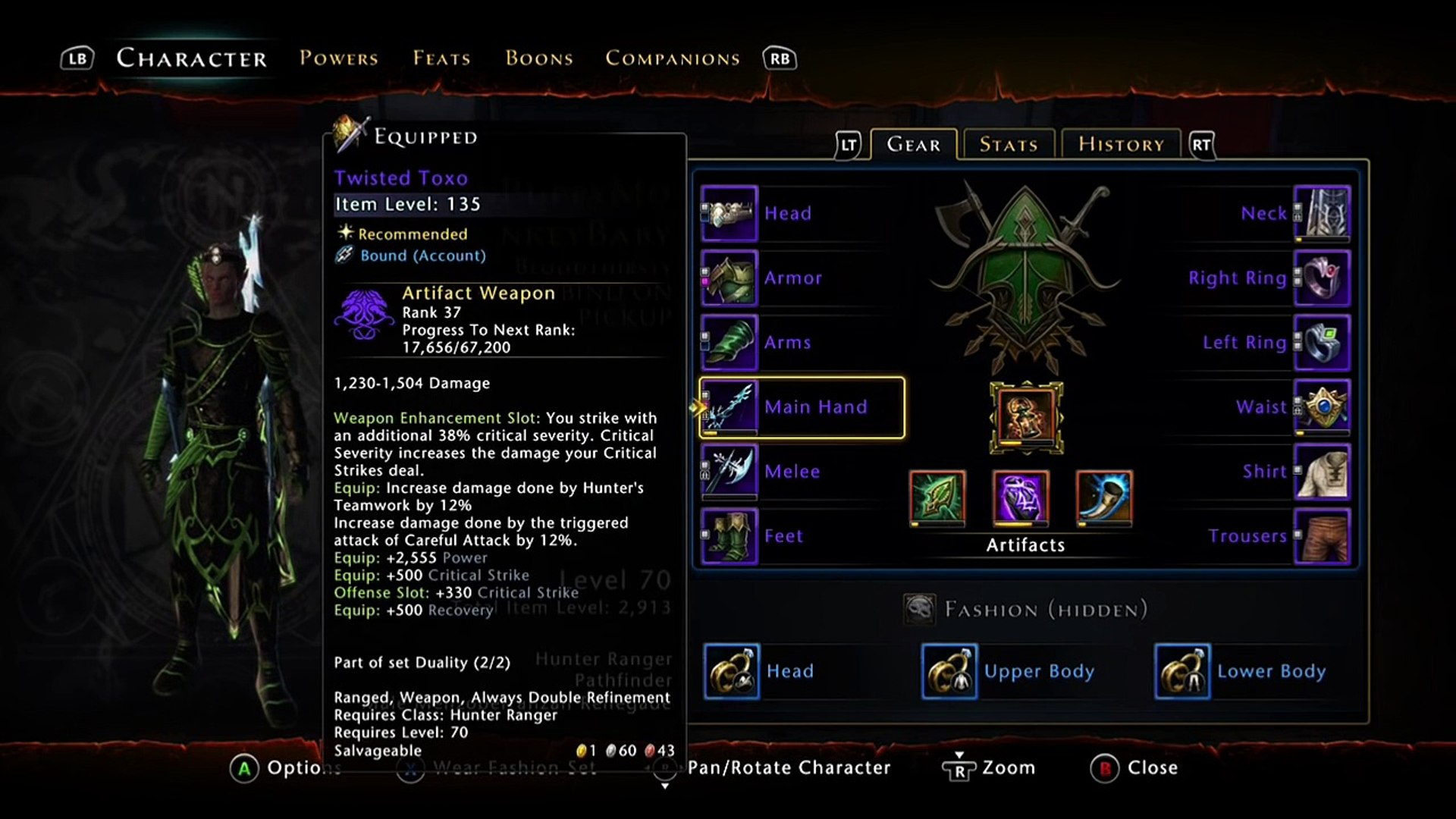 Hunter Ranger Build (One Method) Neverwinter Xbox One/PC/PS4